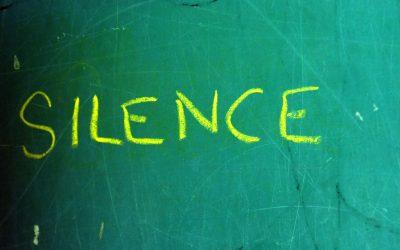 Le silence,  un gros mot !